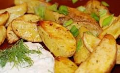 Жареный картофель по-деревенски. Готовить в Tefal Actifry