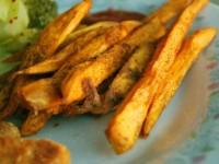 Картофель фри с миндалем в Tefal Актифрай